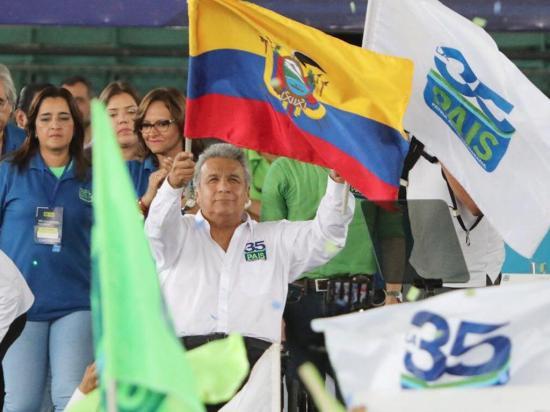 Alianza PAIS ratifica a Lenín Moreno como líder del Movimiento