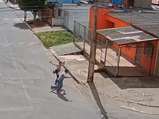 Enfrenta a  ladrón  gracias a  técnicas de  jiu-jitsu