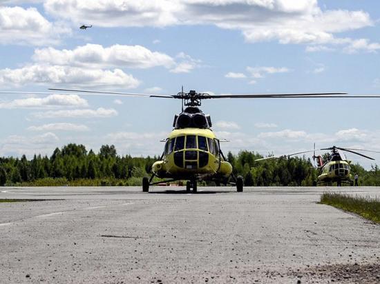 Mueren los 18 ocupantes  de un helicóptero Mi-8 que se estrelló en Siberia