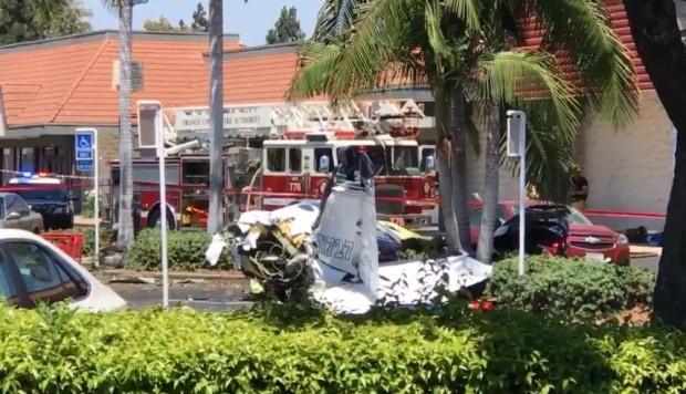 Image result for cinco fallecidos tras estrellarse una avioneta en California