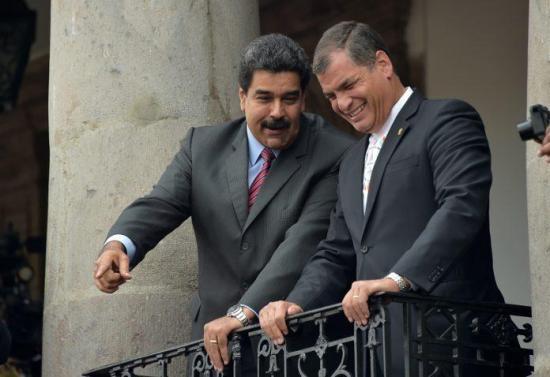 Correa a Maduro: ''Los de siempre no dudarán en recurrir a eliminación física''