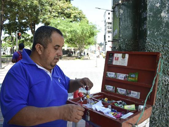 Regeneración de las once manzanas del centro de Portoviejo será inaugurada el 9