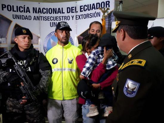 Recuperan en Cuenca a menor venezolano secuestrado en Colombia