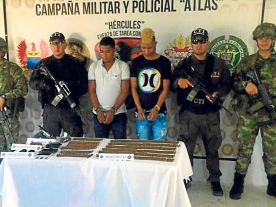 Capturan a presunto partícipe de crimen de agentes en frontera