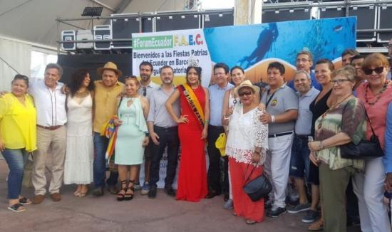 Eligen en Madrid a Miss Ecuador en España 2018
