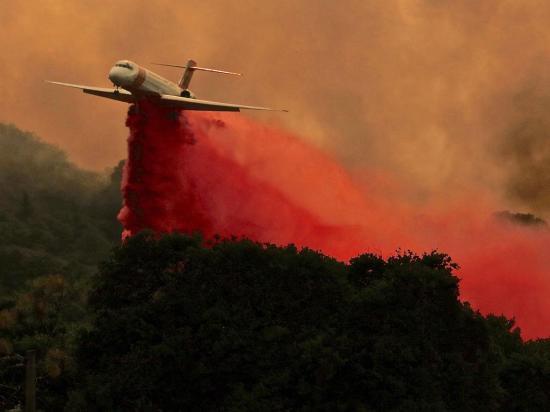 Incendio destruye 110 mil hectáreas en Estados Unidos