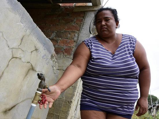 El 21% de la población de Portoviejo no tendrá agua por 60 días debido a daño en planta