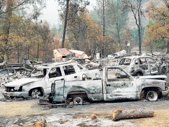 California sufre su más grave incendio