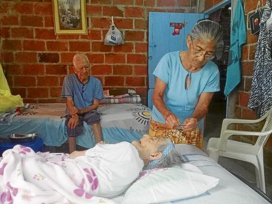 Marcos y Mercedes tienen 89 años juntos