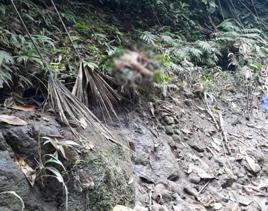 Hallan un cadáver cerca del río Las Vainas