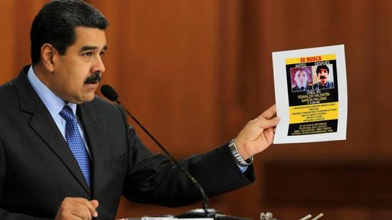 Maduro dice que a autores de atentado en su contra los entrenaron en Colombia
