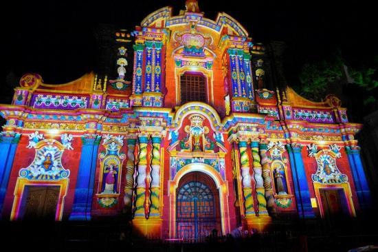 Quito inaugura Festival de la Luz con una inversión de unos 500.000 dólares