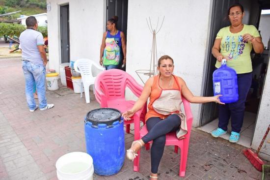 Manta: Nuevo Tarqui lleva siete días sin agua