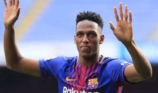 El Barça traspasa al colombiano Yerry Mina al Everton inglés