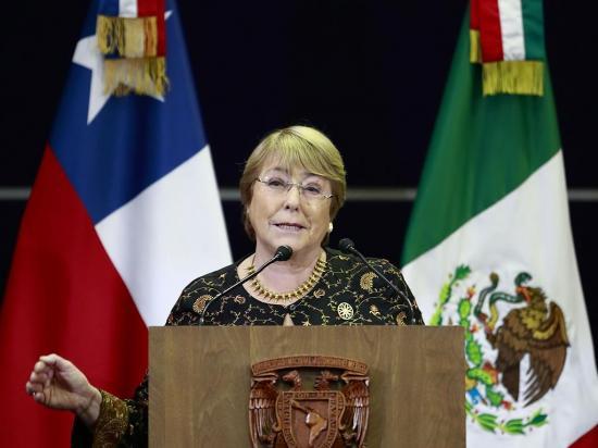 Bachelet suena como nueva comisionada de la ONU