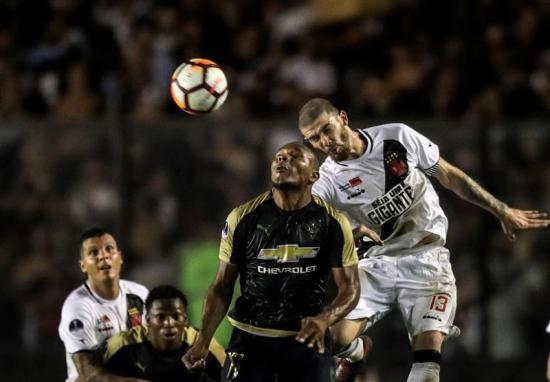 Liga de Quito pierde frente a Vasco Da Gama en Copa Sudamericana, pero clasifica a octavos