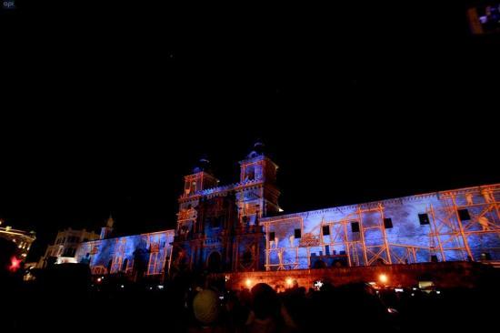 Quito enciende sus noches en este feriado con el ''Festival de la Luz''