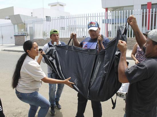 Una mujer quien llegaba a Manta a pedir limosnas murió atropellada