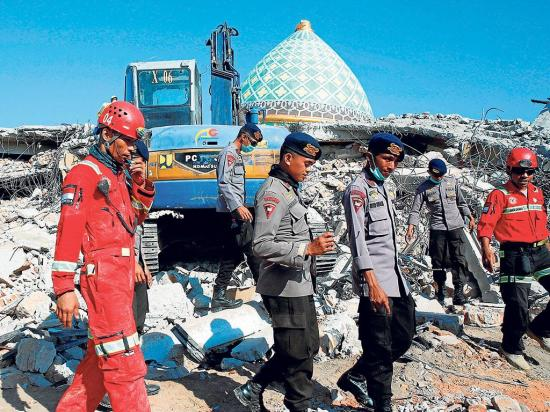 La isla Lombok no para de moverse