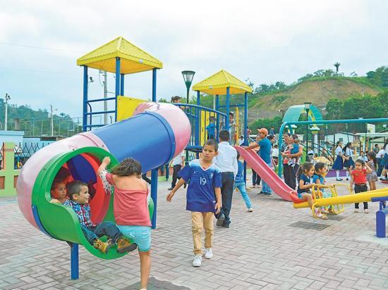 Inauguran un parque que beneficiará a más de tres mil habitantes