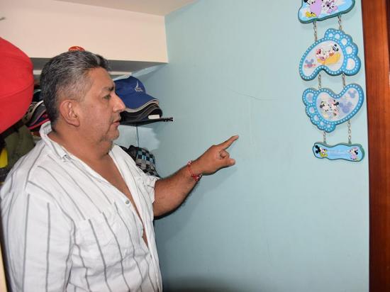 Obras en el hospital afectan casas vecinas
