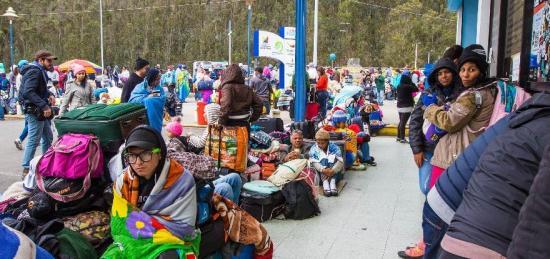 OIM: Más de 5.000 venezolanos entraron a diario a Ecuador desde inicios de mes