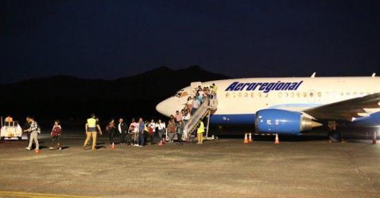 La aerolínea ecuatoriana Aeroregional inicia ruta chárter Quito-Panamá