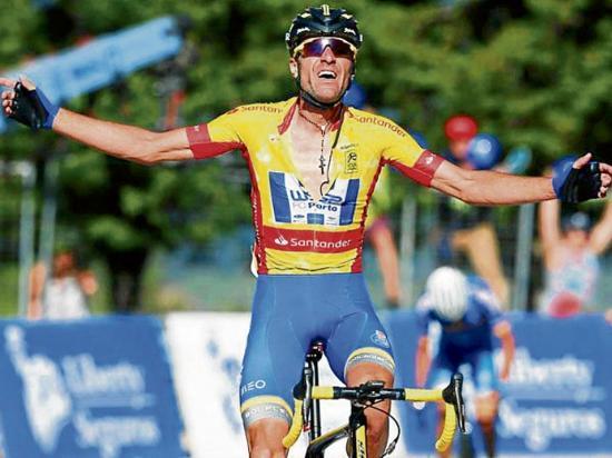 Alarcón gana la novena etapa de la Vuelta a Portugal