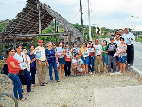 Una ramada causa polémica entre vecinos del sitio La Papaya