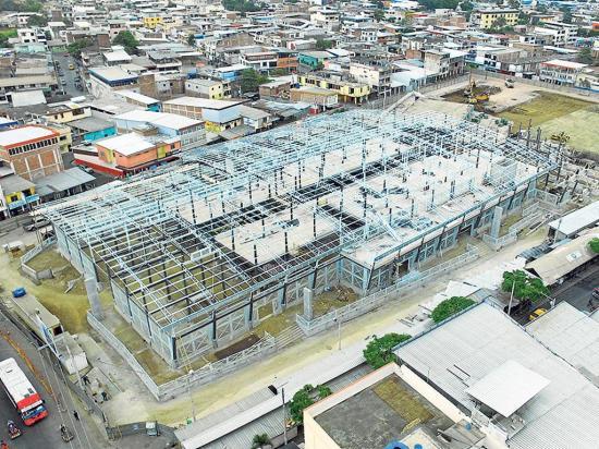 El mercado central de Portoviejo creció con expropiaciones