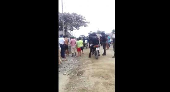 Disparan contra patrullero policial en Quevedo
