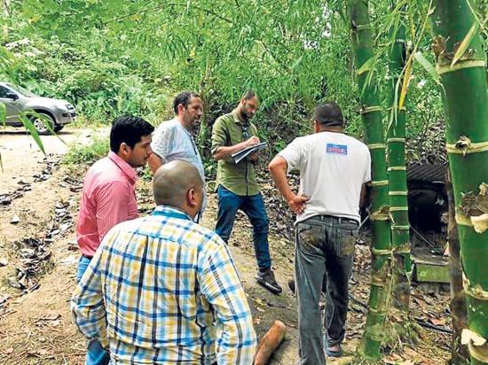 Funcionarios visitan  30 sectores en busca de recursos para el agua