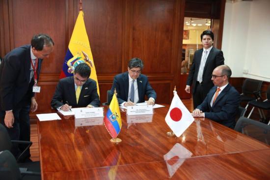 Japón dona a Ecuador 2,7 millones para la prevención de desastres naturales