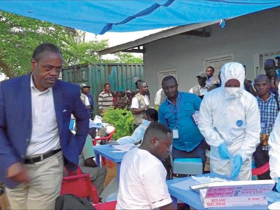22 muertos deja el rebrote del ébola