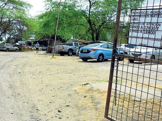 Policía debe escoger el terreno para reubicar  el patio de retención