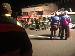 Cuatro heridos del accidente en la vía Pifo-Papallacta están en estado crítico