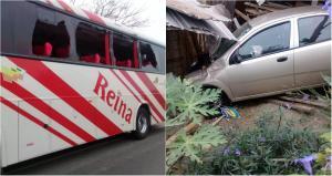 Accidente de tránsito registrado en la vía Manabí-Guayas deja dos heridos
