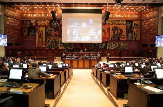 Asamblea de Ecuador ha aprobado nueve leyes en cuatro meses