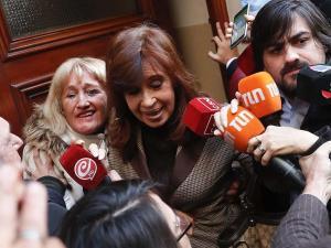 La expresidenta argentina Cristina Fernández con seis causas abiertas