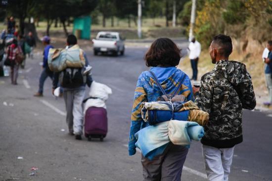 Los 15 dólares que separan a un venezolano en Ecuador del sueño peruano