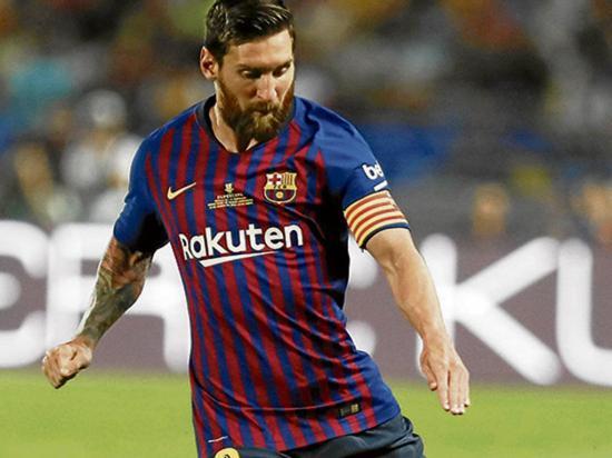Messi dona 1,8 millones