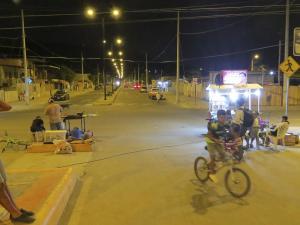 En El Florón las noches son ideales para pasear y comer