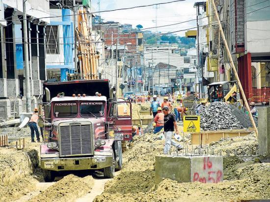 Hay obras que tienen más del 300% de atraso en Portoviejo