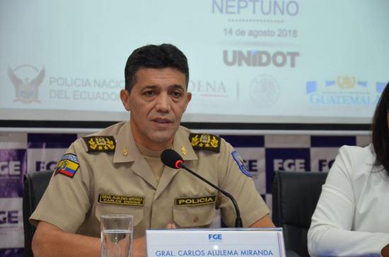 Policía Nacional detiene a banda dedicada al narcotráfico trasnacional