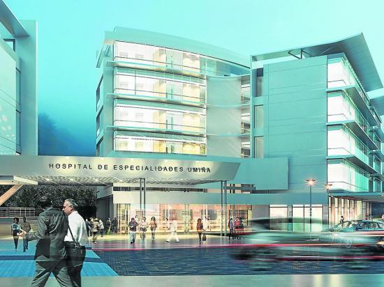 Levantarán hospital de  especialidades UmiñaMed