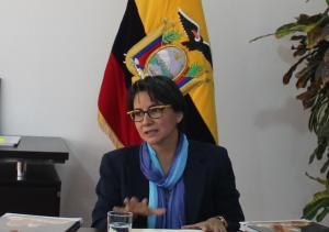 Lenín Moreno destituye a ministra encargada de Agricultura