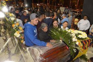 Masivo adiós a hinchas del Barcelona muertos en un accidente de tránsito