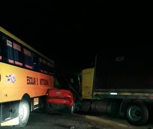 Un triple accidente cobró la vida de cuatro personas en la vía Buena Fe - Santo Domingo
