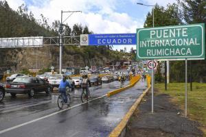 Familia colombiana simulaba viaje de turismo para llevar heroína a Ecuador