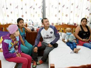 La lucha de Josué, Nuria y Manuel contra la leucemia